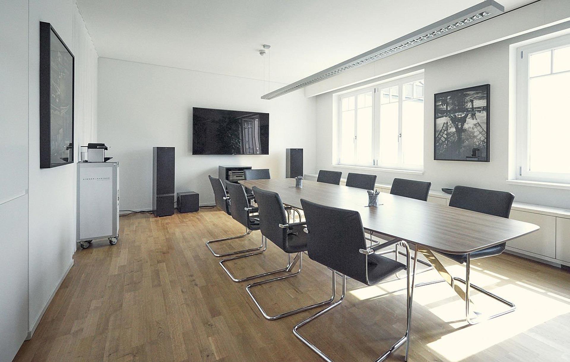 Beratungsraum Kanzlei Maschke
