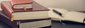 Gesetzesbücher von Rechtsanwalt
